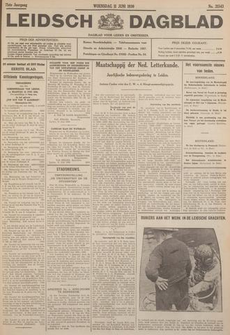 Leidsch Dagblad 1930-06-11