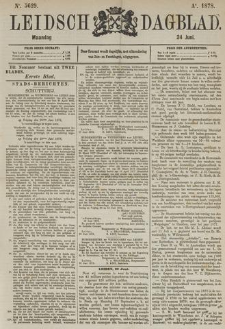 Leidsch Dagblad 1878-06-24