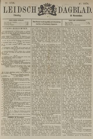 Leidsch Dagblad 1878-11-19