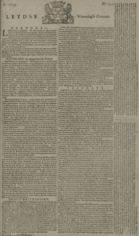 Leydse Courant 1749-09-17