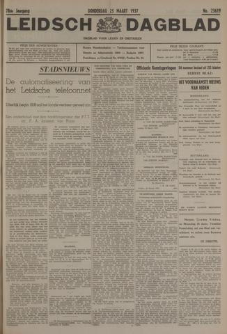 Leidsch Dagblad 1937-03-25
