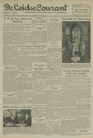 Leidse Courant 1952-02-11