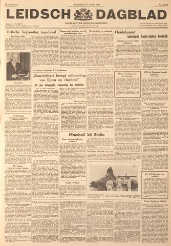 Leidsch Dagblad 1947-04-16
