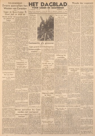 Dagblad voor Leiden en Omstreken 1944-07-06