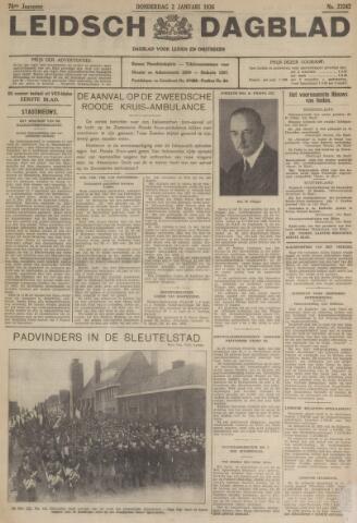 Leidsch Dagblad 1936