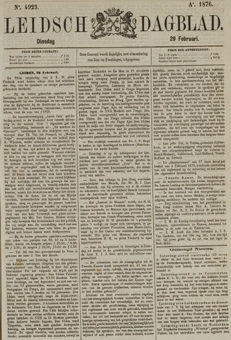 Leidsch Dagblad 1876-02-29