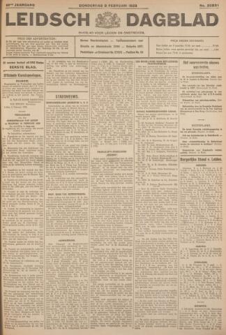 Leidsch Dagblad 1928-02-09
