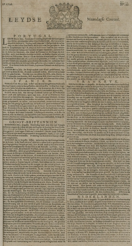 Leydse Courant 1726-08-19