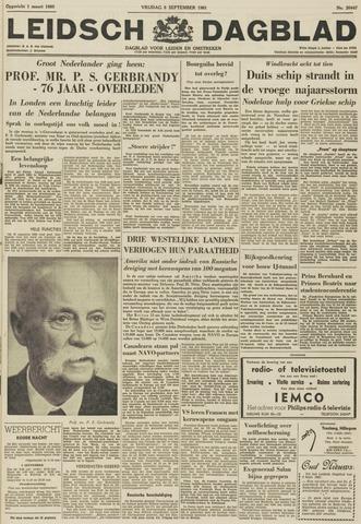 Leidsch Dagblad 1961-09-08