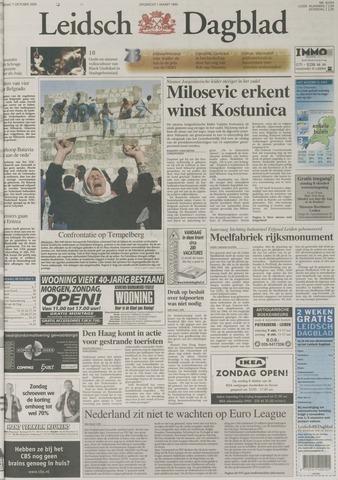 Leidsch Dagblad 2000-10-07