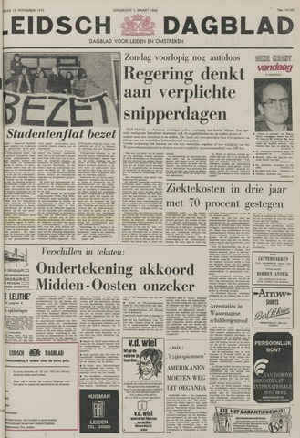 Leidsch Dagblad 1973-11-10