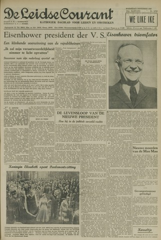 Leidse Courant 1952-11-05
