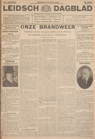 Leidsch Dagblad 1928-04-19