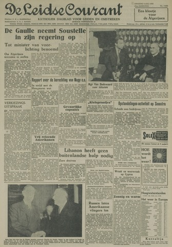 Leidse Courant 1958-07-08