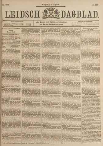 Leidsch Dagblad 1899-04-07