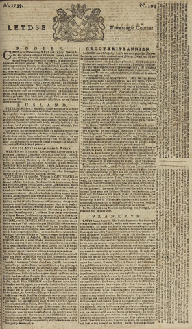Leydse Courant 1759-08-29