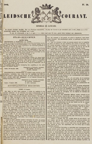 Leydse Courant 1885-01-20