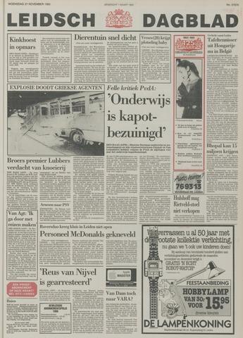 Leidsch Dagblad 1985-11-27