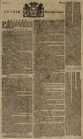 Leydse Courant 1777-02-03
