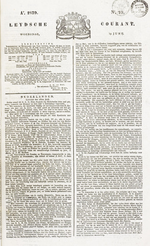 Leydse Courant 1839-06-19