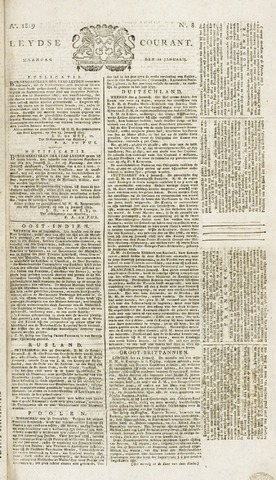 Leydse Courant 1819-01-18