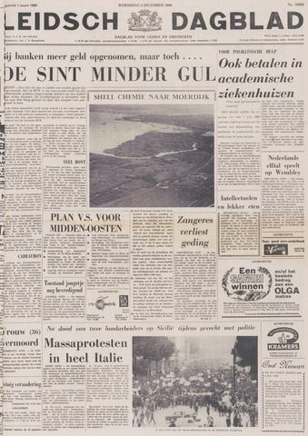 Leidsch Dagblad 1968-12-04