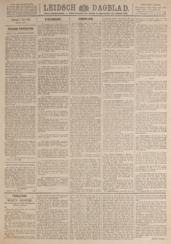 Leidsch Dagblad 1919-07-01
