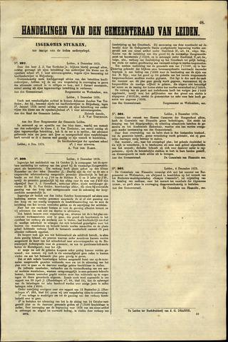 Handelingen van de Raad 1875-12-04