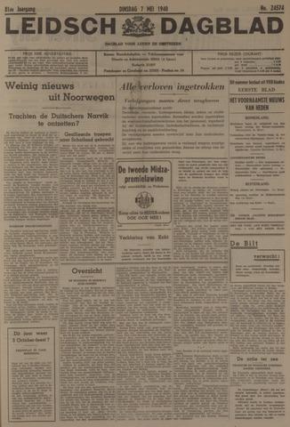 Leidsch Dagblad 1940-05-07