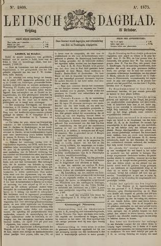 Leidsch Dagblad 1875-10-15