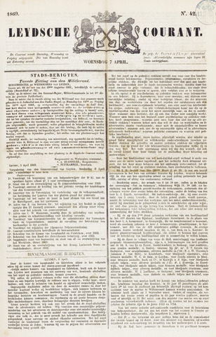 Leydse Courant 1869-04-07