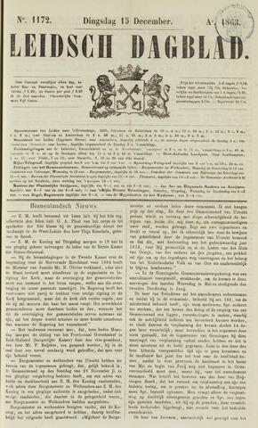 Leidsch Dagblad 1863-12-15
