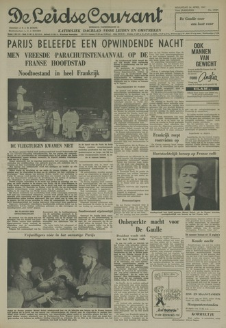 Leidse Courant 1961-04-24