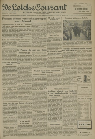 Leidse Courant 1954-08-06