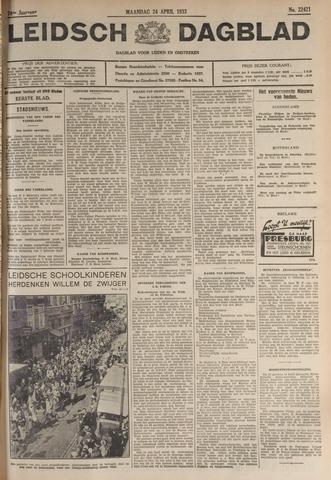 Leidsch Dagblad 1933-04-24