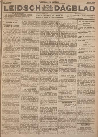 Leidsch Dagblad 1926-10-13