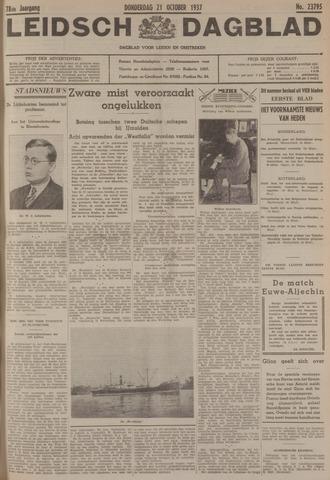 Leidsch Dagblad 1937-10-21