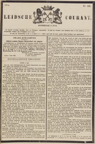 Leydse Courant 1884-07-03