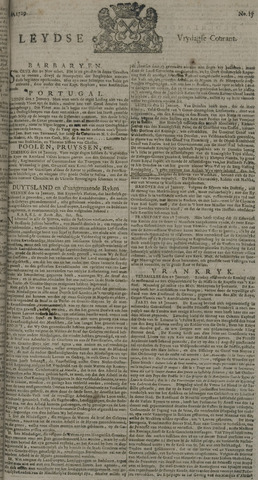 Leydse Courant 1729-02-04