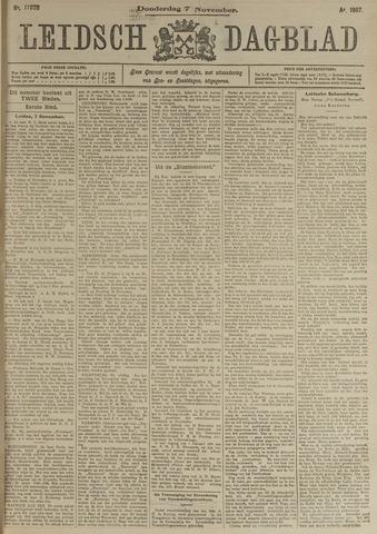 Leidsch Dagblad 1907-11-07