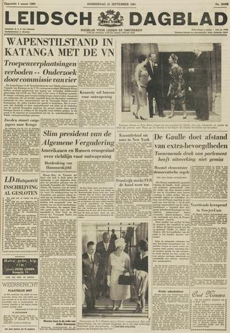 Leidsch Dagblad 1961-09-21