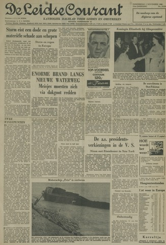 Leidse Courant 1960-11-03