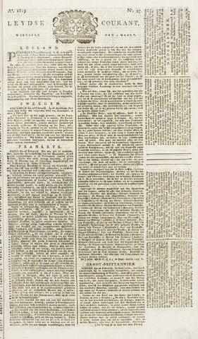 Leydse Courant 1819-03-03