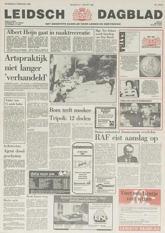 Leidsch Dagblad 1985-02-02