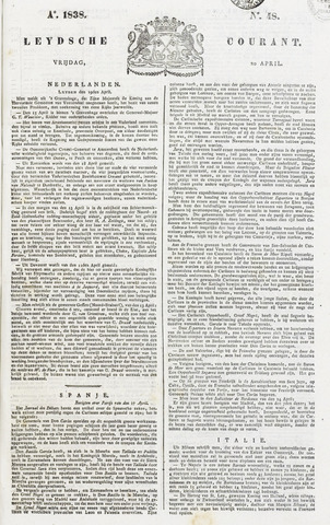 Leydse Courant 1838-04-20