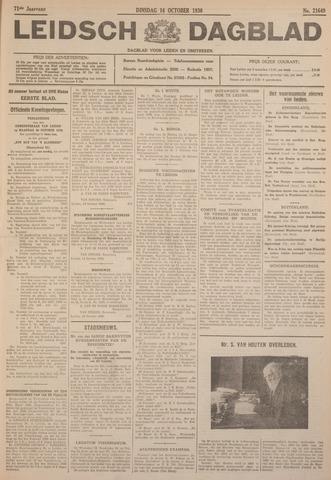 Leidsch Dagblad 1930-10-14