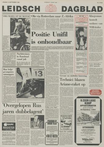 Leidsch Dagblad 1985-09-13