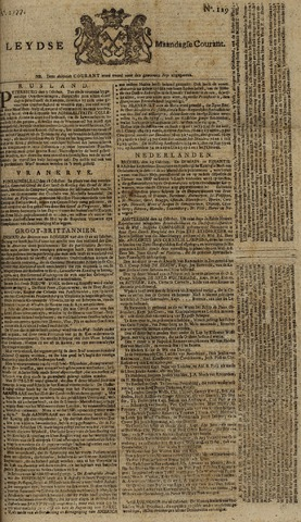 Leydse Courant 1777-10-27