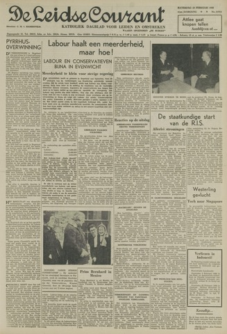 Leidse Courant 1950-02-25