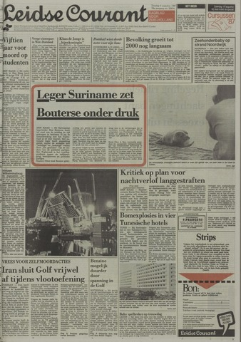Leidse Courant 1987-08-04